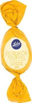Confiserie Ostereier Eierlikör in Zartbitterschokolade, Bio, glutenfrei