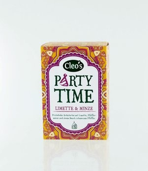 Party Time Tee Cleo's 18 Fb, bio