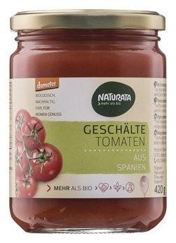 Tomaten geschält im Saft demeter