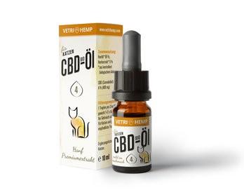 CBD-Öl 4% für Katzen, bio