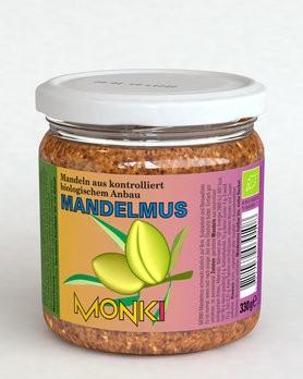 Mandelmus, bio Monki