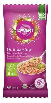Quinoa-Cup Tomate-Kräuter