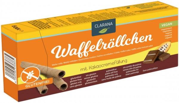 Waffelröllchen Kakaocreme GF