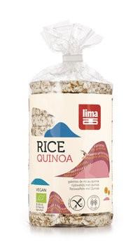 Reiswaffeln mit Quinoa, bio