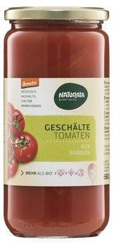 Geschälte Tomaten Glas