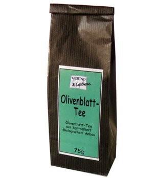 Olivenblatt Tee, bio