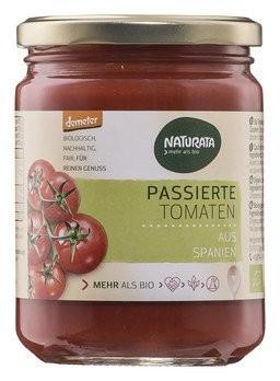 Tomaten passiert, demeter