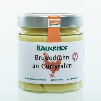 Bruderhahn Curry Glas