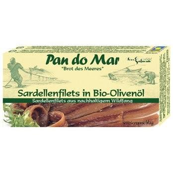 Sardellenfilets in Bio-Olivenöl