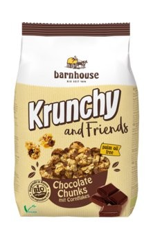 Krunchy and Friends Chocolate Chunks 500g