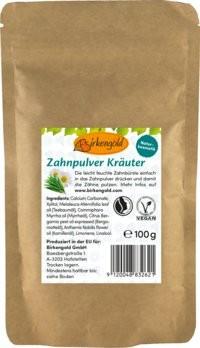 Birkengold® Zahnpulver Kräuter Nachfüllbeutel