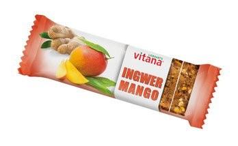 Bio-Mango-Ingwer-Fruchtschnitte