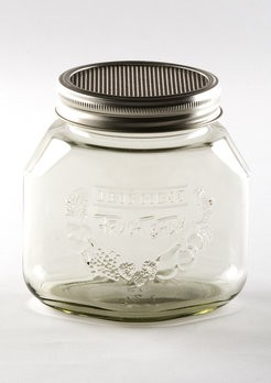 Keimglas mit Siebdeckel 750ml