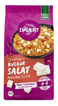 Bulgur Salat mit roten Linsen