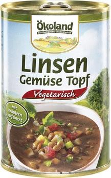 Linsen-Gemüse-Topf vegetarisch