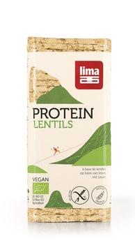 Linsen Protein Waffeln, bio