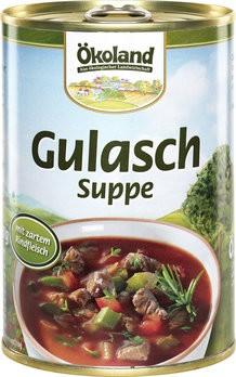 Gulaschsuppe ungarische Art, bio