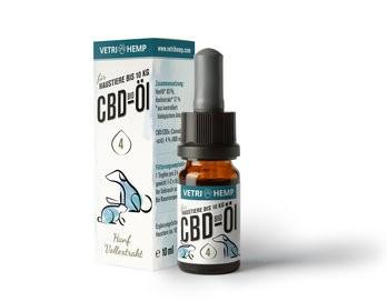 CBD-Öl 4% für Tiere bis 10kg, bio