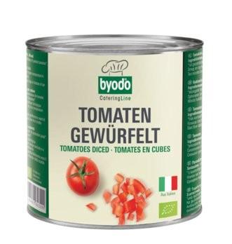 Tomaten gewürfelt Dose