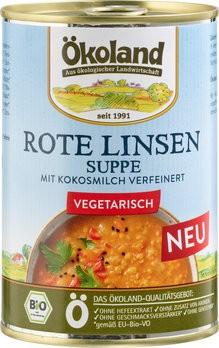 Rote Linsensuppe vegetarisch