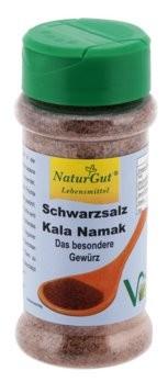 Schwarzsalz,Kala Namak, Streudose