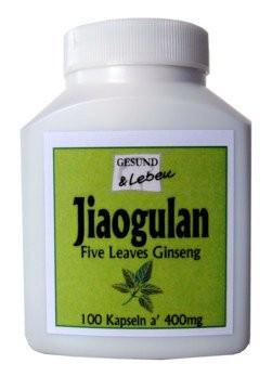 Jiaogulan Kapseln ( a' 400mg )