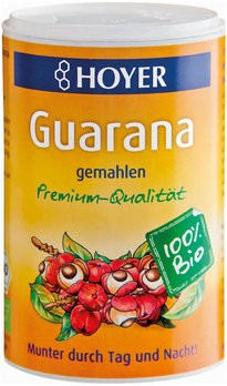 Guarana gemahlen Premium-Qualität