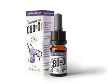 CBD-Öl 12% für Tiere ab 10kg, bio