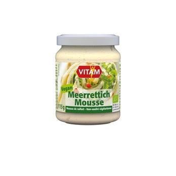 Meerrettich Mousse vegan, bio