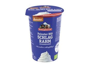 Berchtesgadener Land Feinster Bio-Schlagrahm mind. 32% Fett