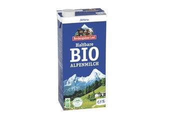 Berchtesgadener Land Haltbare Bio-Alpenmilch - fettarm 1,5% Fett