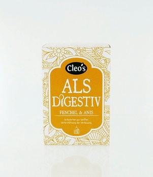 Als Digestiv Tee Cleo's 18 Fb, bio