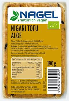 Nigari Tofu Alge 190g