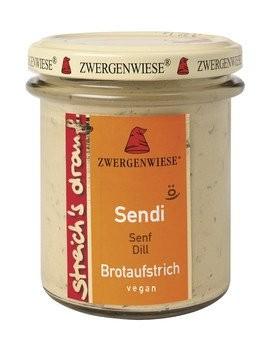 'Sendi streich''s drauf, bio'
