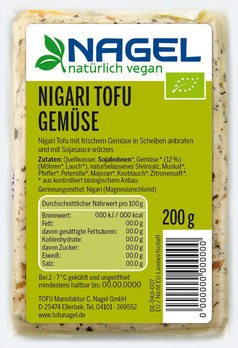 Nigari Tofu Gemüse 200g
