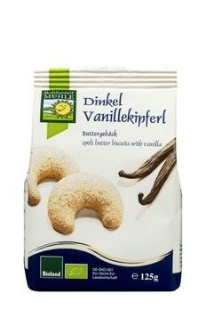 Dinkel Vanillekipferl Buttergebäck