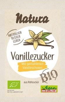 Vanille-Zucker mit Rohzucker, bio