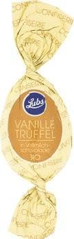 Confiserie Ostereier Vanille Trüffel in Vollmilchschokolade, Bio, glutenfrei