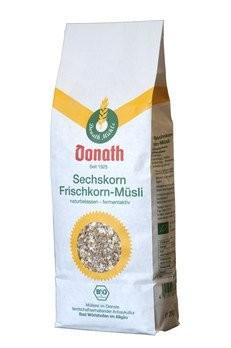 Donath Sechskorn-Frischkorn-Müsli