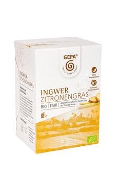 Ingwer Zitronengras Tee, Bio