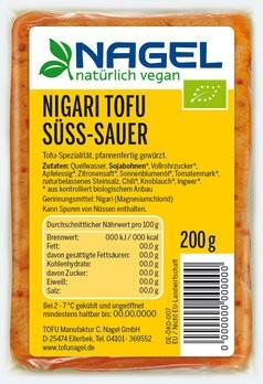 Nigari Tofu Süß-Sauer 200g