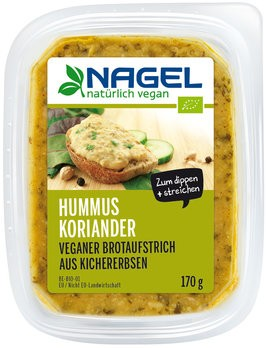 Hummus Koriander 170g