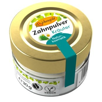 Birkengold® Zahnpulver Kräuter Glas