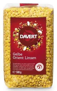 Orient Linsen,gelb