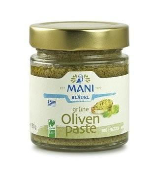 Grüne Olivenpaste, bio