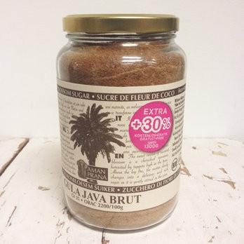 Kokosbl.-Zucker G.Java brut +30%