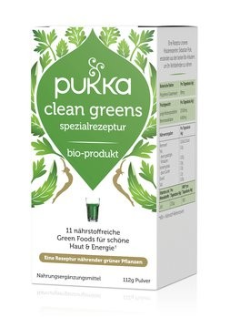 Clean Greens Pulver 112g Bio