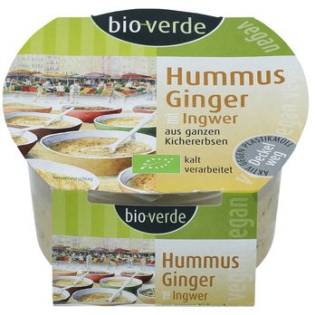 Hummus Ginger 150g mit Ingwer und Koriander, vegan
