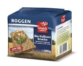 Vollkorn-Roggen-Knäcke, bio