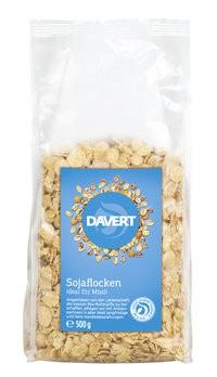 Proteinflocken aus Soja
